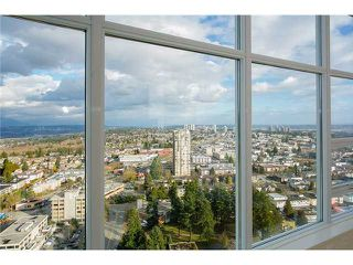 Photo 4: # 3602 4880 BENNETT ST in Burnaby: Metrotown Condo for sale (Burnaby South)  : MLS®# V1127586