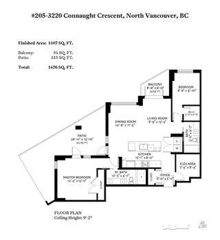 Photo 20: 205 3230 CONNAUGHT Crescent in North Vancouver: Edgemont Condo for sale : MLS®# R2401757
