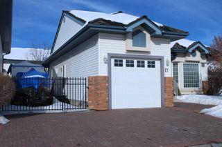 Photo 2: 17, 10 BLACKBURN Drive W in Edmonton: Zone 55 Condo for sale : MLS®# E4188579