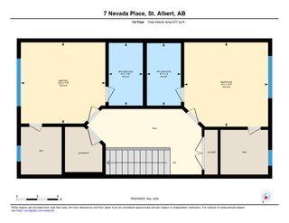 Photo 47: 21 7 NEVADA Place: St. Albert House Half Duplex for sale : MLS®# E4190440