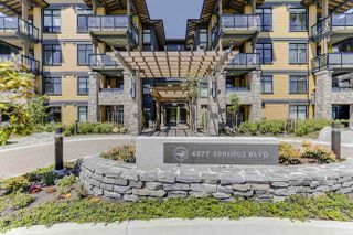 "Photo 1: 113 4977 SPRINGS Boulevard in Delta: Tsawwassen North Condo for sale in ""TSAWWASSEN SPRINGS"" (Tsawwassen)  : MLS®# R2459172"
