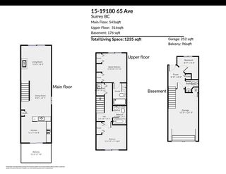 "Photo 34: 15 19180 65 Avenue in Surrey: Clayton Townhouse for sale in ""La Rue"" (Cloverdale)  : MLS®# R2518284"