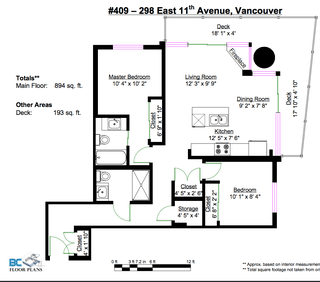 Photo 22: #409-298 E 11th. in Vancouver: Mount Pleasant VW Condo for sale (Vancouver West)  : MLS®# v1029876