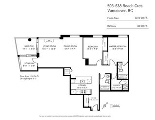 """Photo 20: 503 638 BEACH Crescent in Vancouver: Yaletown Condo for sale in """"Icon"""" (Vancouver West)  : MLS®# R2430003"""