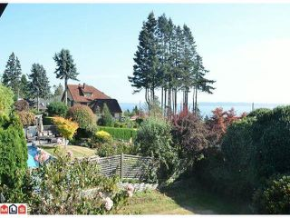 Photo 1: 13536 MARINE DR in Surrey: Crescent Bch Ocean Pk. House for sale (South Surrey White Rock)  : MLS®# F1224067
