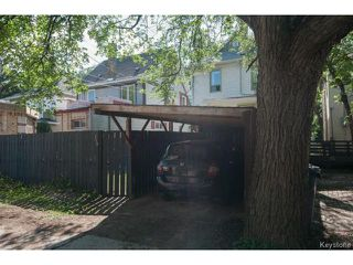 Photo 20: 139 Arlington Street in WINNIPEG: West End / Wolseley Residential for sale (West Winnipeg)  : MLS®# 1418074