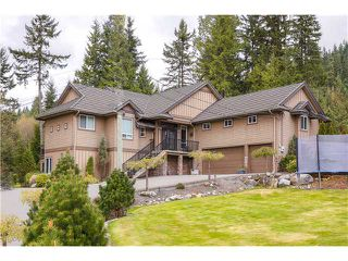 Photo 1: 712 SPENCE WY: Anmore House for sale (Port Moody)  : MLS®# V1114997