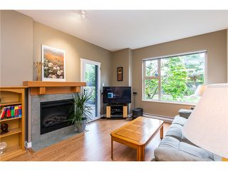 Photo 1: # 108 808 SANGSTER PL in New Westminster: The Heights NW Condo for sale : MLS®# V1130644