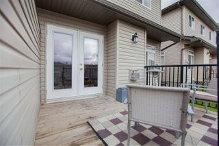 Photo 25: 42 9511 102 Avenue: Morinville Townhouse for sale : MLS®# E4175476