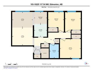 Photo 34: 103 10225 117 Street in Edmonton: Zone 12 Condo for sale : MLS®# E4220403