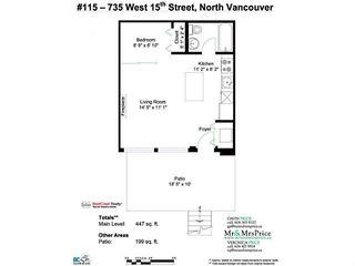 """Photo 14: # 115 735 W 15TH ST in North Vancouver: Hamilton Condo for sale in """"SEVEN 35"""" : MLS®# V1023700"""