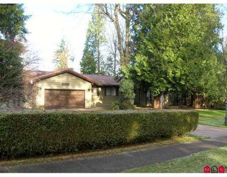 "Main Photo: 18037 20TH Ave in White Rock: Hazelmere House for sale in ""REDWOOD PARK"" (South Surrey White Rock)  : MLS®# F2626903"