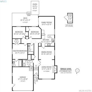 Photo 32: 1401 Harrop Road in VICTORIA: SE Cedar Hill Single Family Detached for sale (Saanich East)  : MLS®# 415781