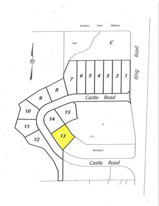 "Main Photo: LOT 13 CASTLE Road in Gibsons: Gibsons & Area Land for sale in ""KING & CASTLE"" (Sunshine Coast)  : MLS®# R2422454"