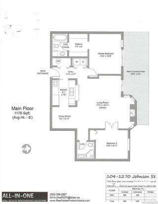 Photo 24: 104 1270 Johnson St in Victoria: Vi Downtown Condo Apartment for sale : MLS®# 844658