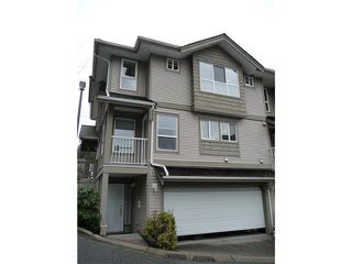 """Photo 1: 1 241 PARKSIDE Drive in Port Moody: Heritage Mountain Townhouse for sale in """"PINEHURST"""" : MLS®# V934387"""