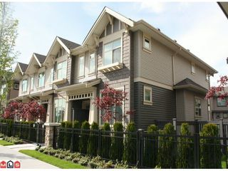 "Photo 1: 61 31125 WESTRIDGE Place in Abbotsford: Abbotsford West Townhouse for sale in ""Kinfield"" : MLS®# F1210958"
