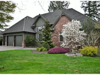 "Photo 1: 11054 164A Street in Surrey: Fraser Heights House for sale in ""HAMPTON WOODS"" (North Surrey)  : MLS®# F1306452"