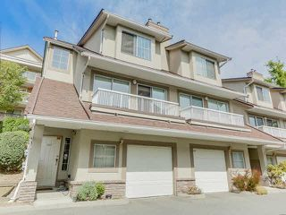 Photo 1: 3433 AMBERLY PLACE in Vancouver: Champlain Heights Townhouse for sale (Vancouver East)  : MLS®# V1141286