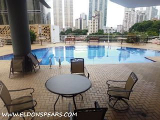 Photo 1: Furnished Condo in Bella Vista - PH Vista Tower