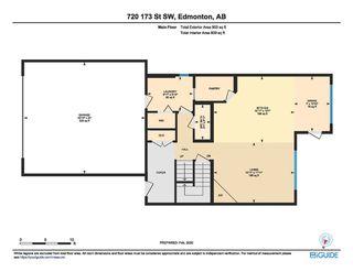 Photo 38: 720 173 Street in Edmonton: Zone 56 House for sale : MLS®# E4188024