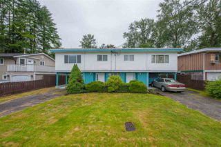 Main Photo: 3676 3678 ST. THOMAS Street in Port Coquitlam: Lincoln Park PQ House for sale : MLS®# R2463655