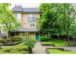 "Main Photo: 43 1561 BOOTH Avenue in Coquitlam: Maillardville Townhouse for sale in ""The Courcelles"" : MLS®# R2490748"