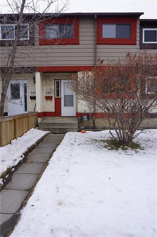 Main Photo: 5407 1 Avenue SE in Calgary: Penbrooke Meadows Row/Townhouse for sale : MLS®# C4280120