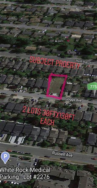 Photo 2: 15436 GOGGS Avenue: White Rock Land for sale (South Surrey White Rock)  : MLS®# R2458800