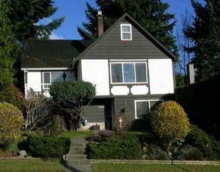 Photo 1: 1540 BEWICKE AV in North Vancouver: Hamilton House for sale : MLS®# V586681