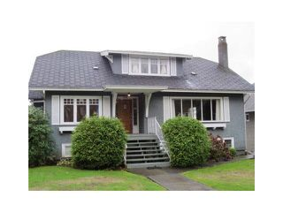 Photo 1: 2130 W 47TH AVENUE in Vancouver: Kerrisdale House for sale (Vancouver West)  : MLS®# R2006851