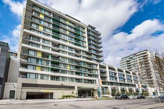 "Main Photo: 603 7733 FIRBRIDGE Way in Richmond: Brighouse Condo for sale in ""QUINTET TOWER C"" : MLS®# R2388049"