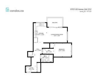 Photo 20: 1512 13325 102A Avenue in Surrey: Whalley Condo for sale (North Surrey)  : MLS®# R2490152