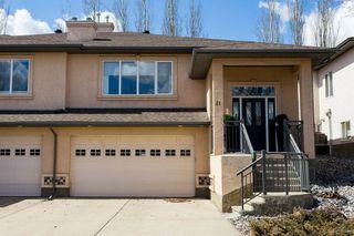 Photo 1: 21 50 Oakridge Drive: St. Albert House Half Duplex for sale : MLS®# E4216056