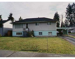 Main Photo: 3478 HASTINGS ST in Port_Coquitlam: Woodland Acres PQ House for sale (Port Coquitlam)  : MLS®# V302553