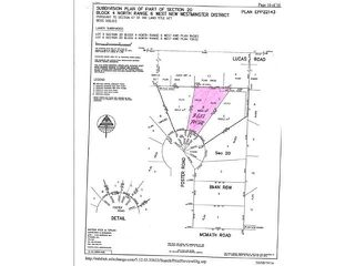 Photo 1: 8682 FOSTER RD in Richmond: Broadmoor Land for sale : MLS®# V1109002