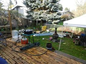 Photo 1: 22041 Dewdney Trunk Road in Maple Ridge: House Duplex for sale