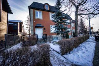 Photo 2: 14319 Stony Plain Road in Edmonton: Zone 21 Townhouse for sale : MLS®# E4181491