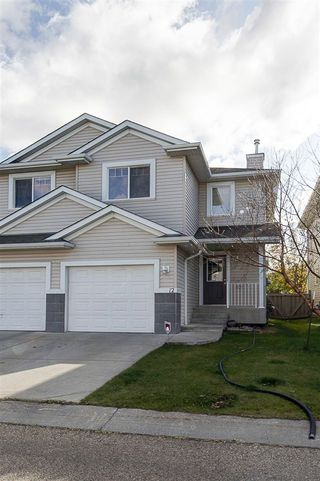 Main Photo: 12 287 MACEWAN Road in Edmonton: Zone 55 House Half Duplex for sale : MLS®# E4185159