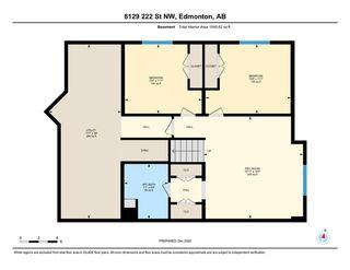 Photo 28: 8129 222 Street in Edmonton: Zone 58 House Half Duplex for sale : MLS®# E4223417