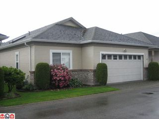 "Photo 1: 132 8485 YOUNG Road in Chilliwack: Chilliwack W Young-Well Townhouse for sale in ""HAZELWOOD GROVE"" : MLS®# H1202220"