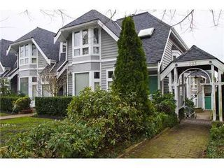 Photo 1: 5 233 6TH Street E in North Vancouver: Lower Lonsdale Home for sale ()  : MLS®# V937748