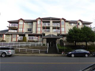 Photo 1: # 110 1215 PACIFIC ST in Coquitlam: North Coquitlam Condo for sale : MLS®# V1101031
