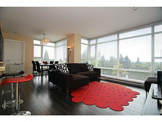Photo 8: # 601 555 DELESTRE AV in Coquitlam: Coquitlam West Condo for sale : MLS®# V1119437