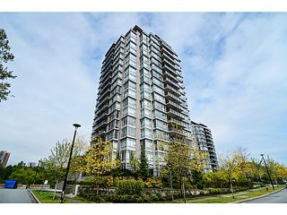 Photo 1: # 601 555 DELESTRE AV in Coquitlam: Coquitlam West Condo for sale : MLS®# V1119437