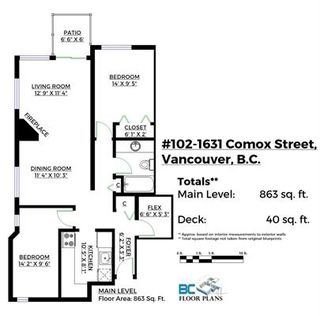 Photo 4: 102 1631 COMOX STREET in Vancouver: West End VW Condo for sale (Vancouver West)  : MLS®# R2133390