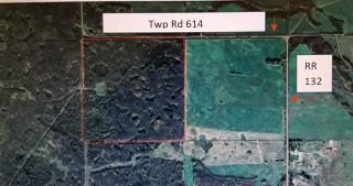 Photo 1: Twp Rd 614 RR 133: Rural Smoky Lake County Rural Land/Vacant Lot for sale : MLS®# E4195802