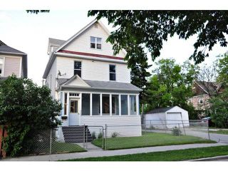 Main Photo: 363 Agnes Street in WINNIPEG: West End / Wolseley Residential for sale (West Winnipeg)  : MLS®# 1211869