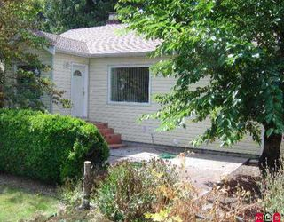 "Photo 1: 8037 160TH ST in Surrey: Fleetwood Tynehead House for sale in ""Fleetwood"" : MLS®# F2600083"
