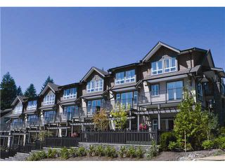 "Photo 1: 103 1460 SOUTHVIEW Street in Coquitlam: Burke Mountain Townhouse for sale in ""CEDAR CREEK"" : MLS®# V951213"